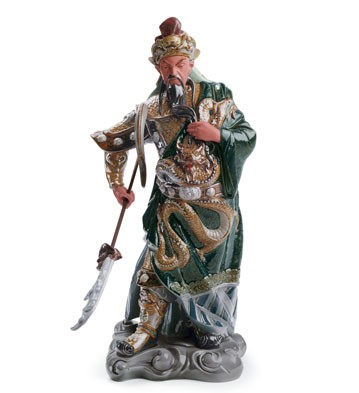 Ancient Dynasty Warrior Lladro Figurine