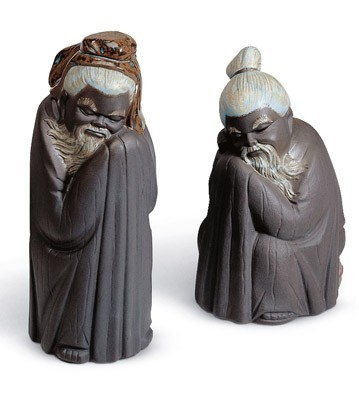 Ancient Orient Gift Box Lladro Figurine