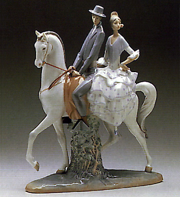 Andalucians Group Lladro Figurine