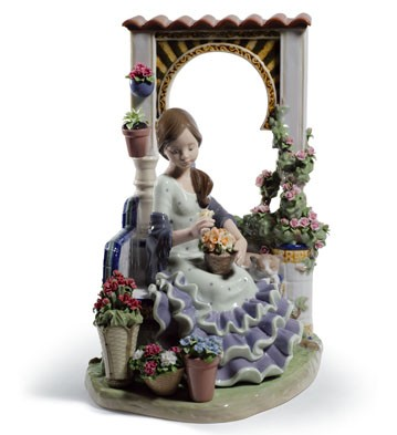 Andalusian Spring Lladro Figurine