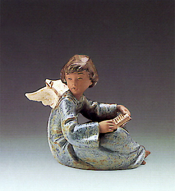 Angel And Friend Lladro Figurine
