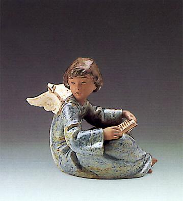 Angel And Friend Lladro Figurine