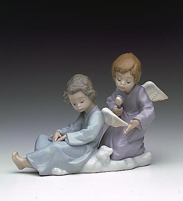 Angel Care Lladro Figurine