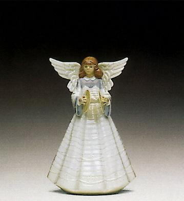 Angel Cymbalist Lladro Figurine