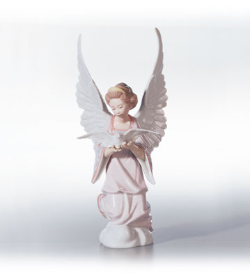Angel Of Peace Lladro Figurine