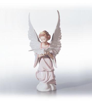 Angel Of Peace Lladro Figurine