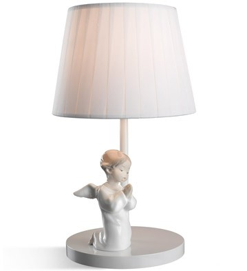 Angel Praying - Lamp (us) Lladro Figurine