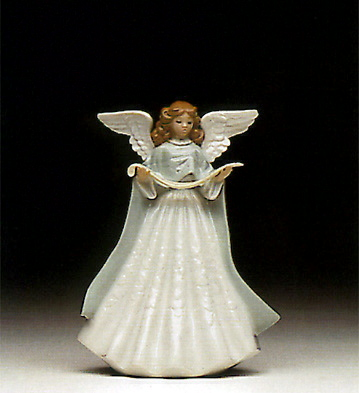 Angel Tree Topper-Green Lladro Figurine