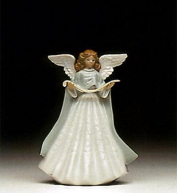 Angel Tree Topper-Green Lladro Figurine