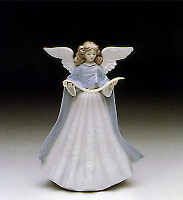 Angel Tree Topper Lladro Figurine