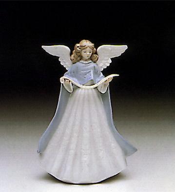 Angel Tree Topper Lladro Figurine