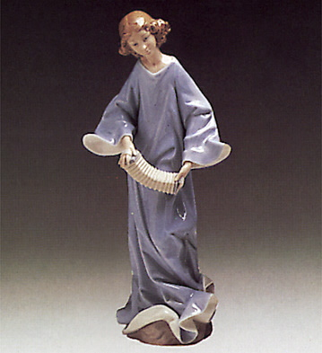 Angel With Accordion Lladro Figurine