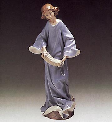 Angel With Accordion Lladro Figurine