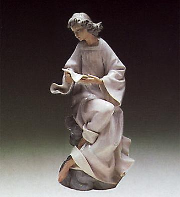 Angel With Score Lladro Figurine