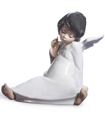 Angel Wondering Lladro Figurine