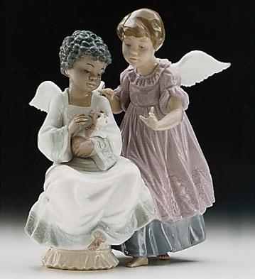 Angelic Harmony Lladro Figurine