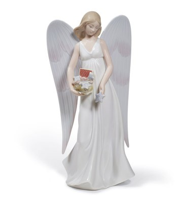 Angelic Stars (tree Topper) Lladro Figurine