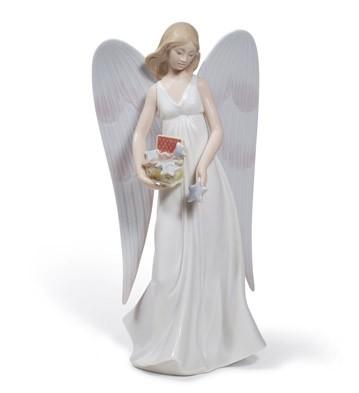 Angelic Stars (tree Topper) Lladro Figurine