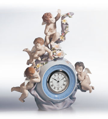 Angelic Time Lladro Figurine