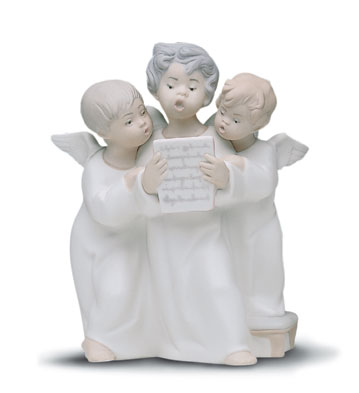 Angel's Group Lladro Figurine