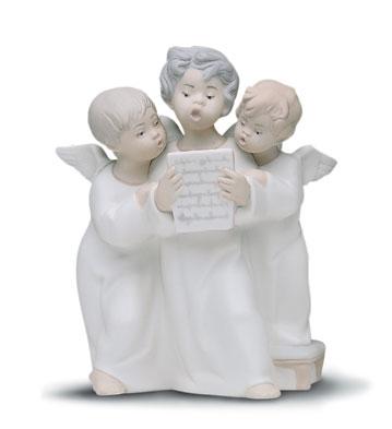 Angel's Group Lladro Figurine