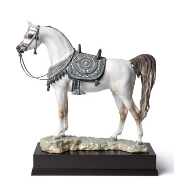 Arabian Pure Breed (Glazed) Lladro Figurine