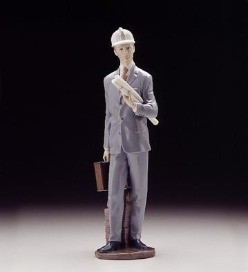 Architect Lladro Figurine