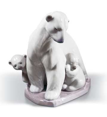 Arctic Family Lladro Figurine