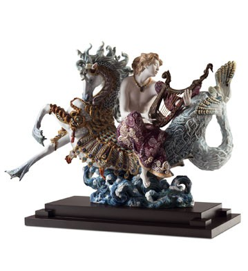 Arion On A Seahorse Lladro Figurine