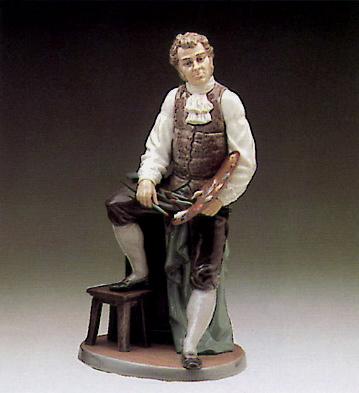 Artistic Endeavor Lladro Figurine