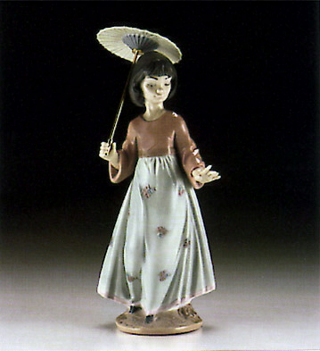 Asian Love Lladro Figurine