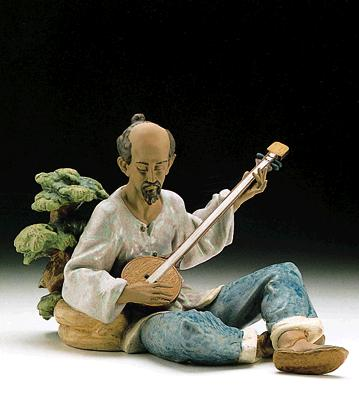 Asian Melody Lladro Figurine