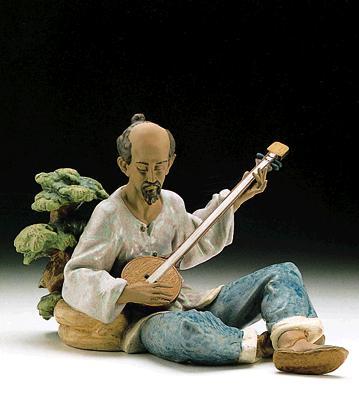 Asian Melody Lladro Figurine
