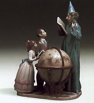 Astronomy Lesson Lladro Figurine
