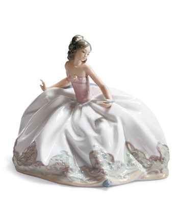 At The Ball Lladro Figurine