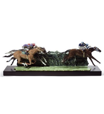 At The Derby Lladro Figurine