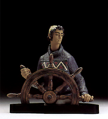 At The Helm (l.e.) (b) Lladro Figurine