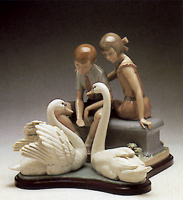 At The Pond (b) Lladro Figurine
