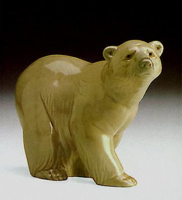 Attentive Bear Lladro Figurine