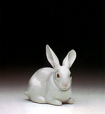 Attentive Bunny Lladro Figurine