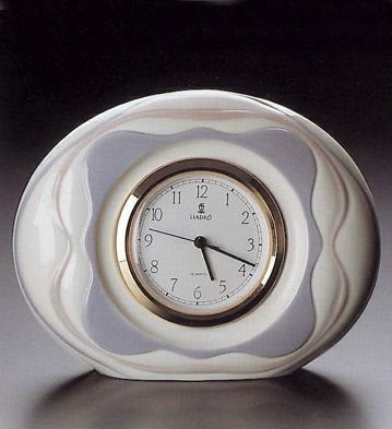 Avila Clock Lladro Figurine