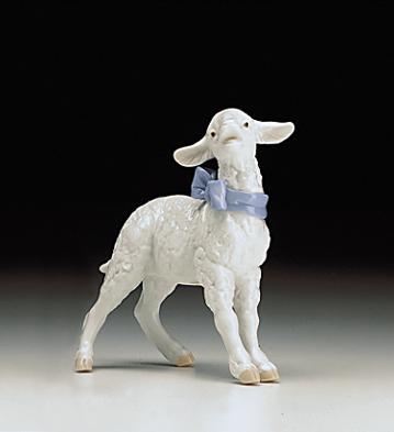 Baby Boy Lamb Lladro Figurine