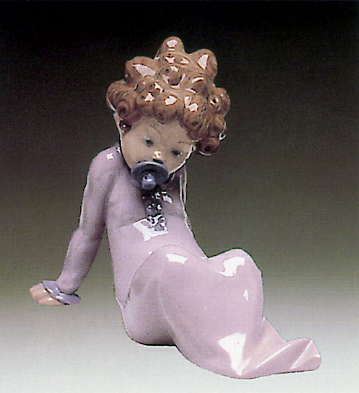 Baby-dummy In The Mouth Lladro Figurine