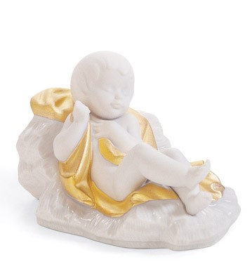 Baby Jesus (re-deco) Lladro Figurine