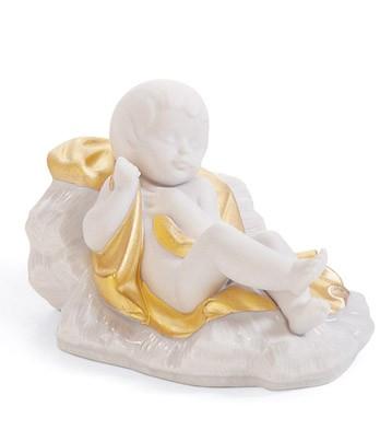 Baby Jesus (re-deco) Lladro Figurine