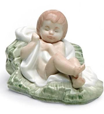 Baby Jesus Lladro Figurine