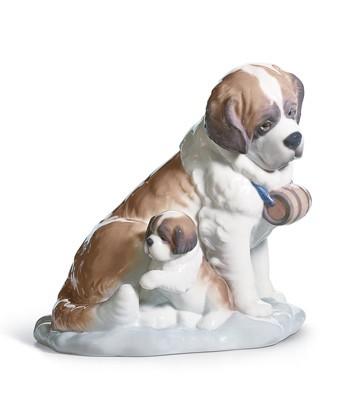 Baby-sitting Lladro Figurine