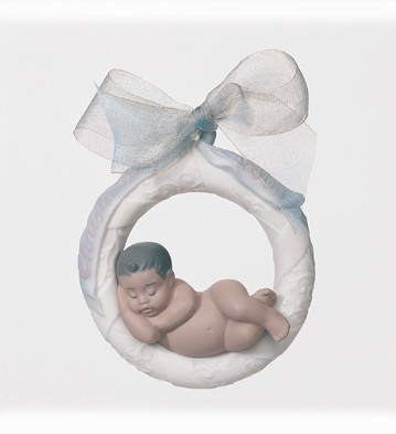 Baby's First Christmas 2004 B.l. Lladro Figurine