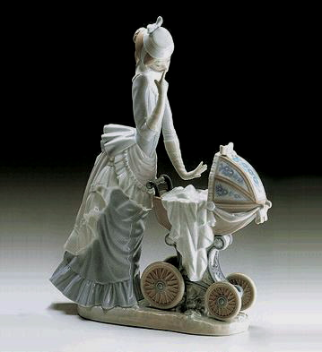 Baby's Outing Lladro Figurine