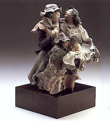 Back From The Fair(b) Lladro Figurine